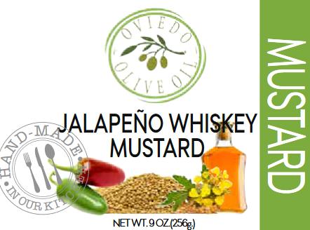Jalapeno Whiskey Mustard