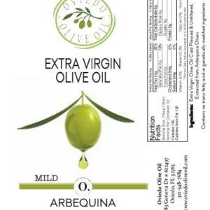 arbequina, mild olive oil, olive oil, extra virgin olive oil