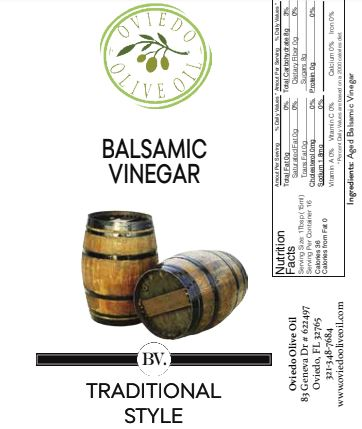 traditional balsamic vinegar, oviedo olive oil vinegar, oviedo olive oil