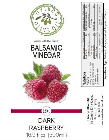 dark raspberry balsamic vinegar, raspberry balsamic vinegar, oviedo olive oil vinegars