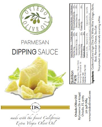 parmesan dipping sauce, parmesan dipping oil, oviedo olive oil