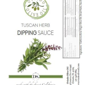 tuscan herb dipping suace, oviedo olive oil sauce, dipping oils