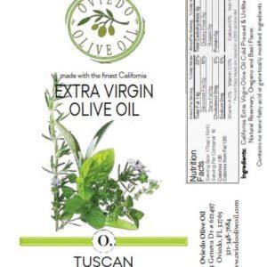tuscan herb olive oil, oviedo olive oil, flavored olive oils